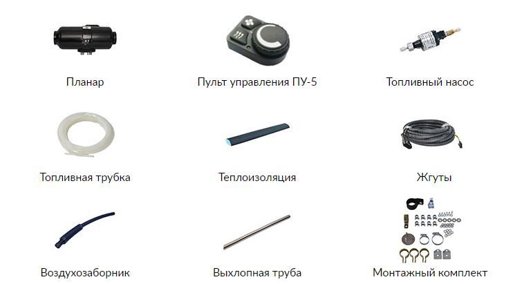 Комплектация Планар 4ДМ2